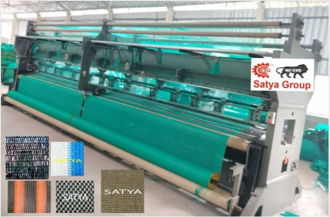 Automatic Green House Net Making Machine