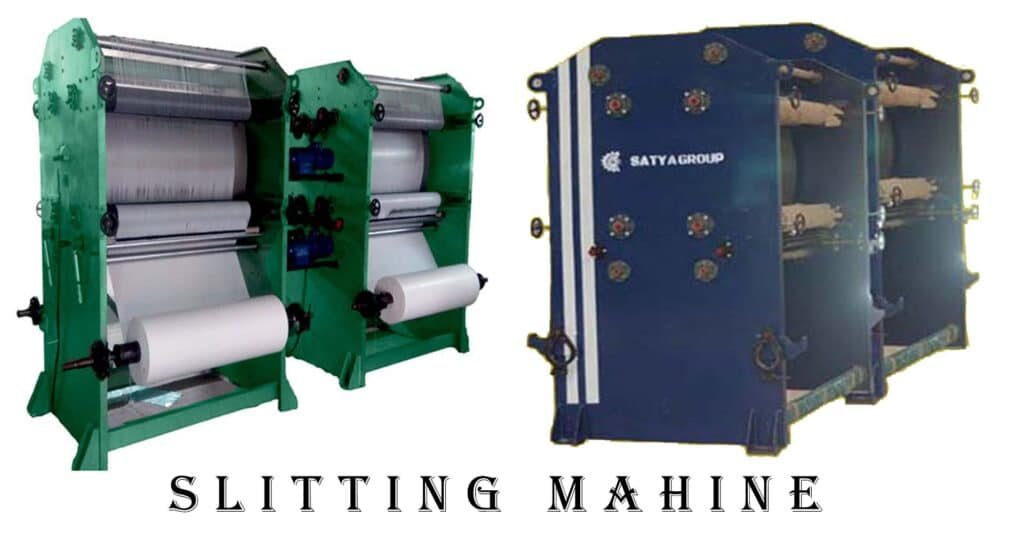 Slitting And Extension Machine